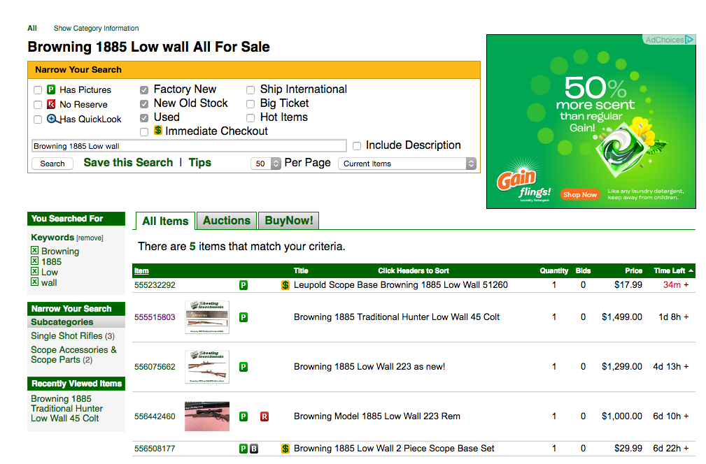 Item View Page